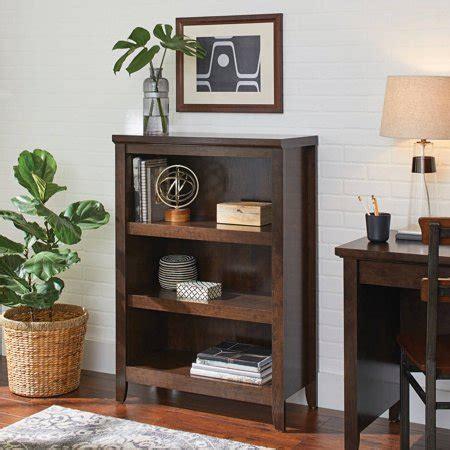 better homes and gardens shelves better homes and gardens 3 shelf bookcase estate