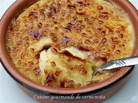 cuisine catalane recette de crème catalane par