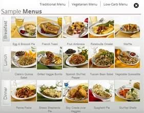Vegetarian Diet Sample Menu