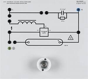 High Pressure Sodium Vapour Lamp Circuit Diagram
