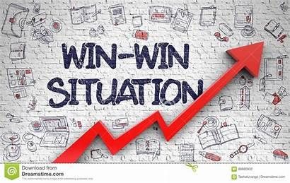 Win Situation Situatie Brick Drawn Gezeichnet Backsteinmauer