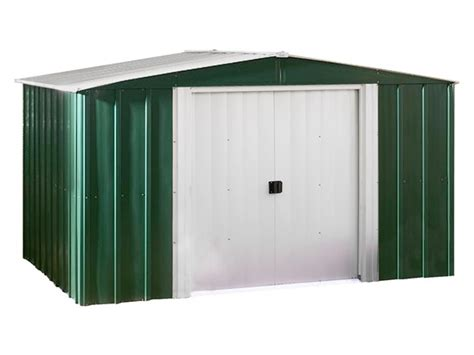 Arrow Galvanized Steel Storage Shed 10x8 by 10 X 8 Metal Storage Shed Kit