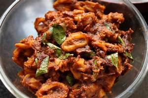 Kerala style Squid Roast