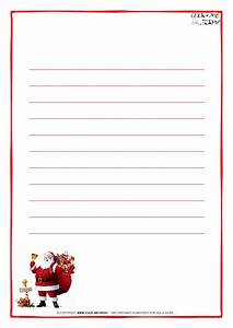letter to santa claus paper template with lines santa 15 With christmas paper for letters to print