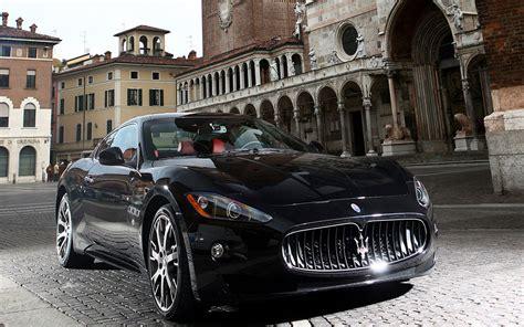 black maserati sports car maserati granturismo sport black image 71