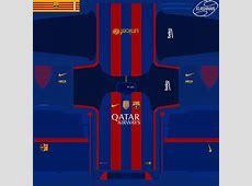 PES 2016 Barcelona Kit 1617 by Klashman69 PES Patch