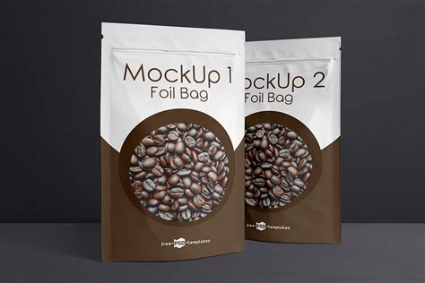 You can use this coffee bag mockup design to impress your clients or the customers to purchase your these are our exclusive list of coffee bag mockup free psd and vector templates. Download This 3 Free Foil Bag Mockup In PSD - Designhooks