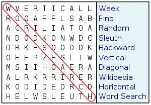 eight letters in search of a word word search 29831