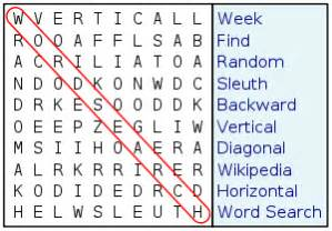find words containing these letters