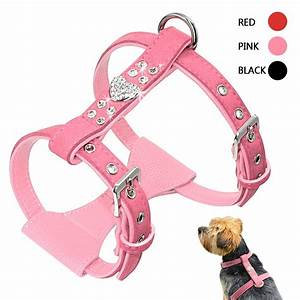 Aliexpress Com   Buy Bling Rhinestone Puppy Dog Harness