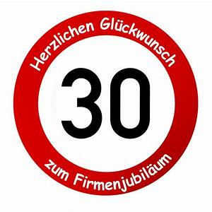 30 Dinge Zum 30 Geburtstag : firmenschild als verkehrsschild geschenk zum firmenjubil um ~ Markanthonyermac.com Haus und Dekorationen