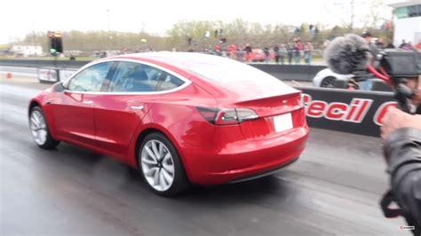 Watch Tesla Model 3 Set New Quarter-mile Record