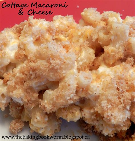mac and cheese recipe with cottage cheese the baking bookworm cottage mac n cheese