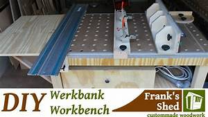 Werkstatt Selber Bauen : diy mobile werkbank selber bauen mobile workbench youtube werkstatt pinterest ~ Orissabook.com Haus und Dekorationen