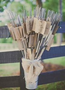 diy 10 ways to package wedding favors american wedding With sparklers for wedding favors
