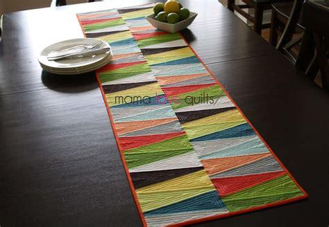 modern dresden quilt table runner favequiltscom
