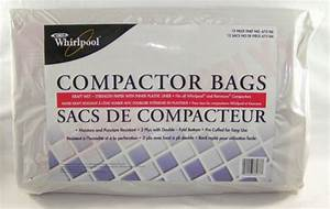 675186   Whirlpool Trash Compactor Bags  15 U0026quot   12  Pack