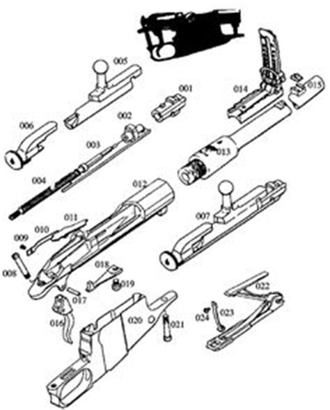 Upper Receiver Exploded View Diagram Guns
