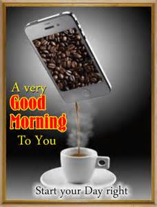 Good Morning Coffee Greetings
