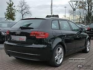 Audi A3 Sportback 2010 : 2010 audi a3 sportback 1 6 ambition bluetooth pdc 3 years car photo and specs ~ Melissatoandfro.com Idées de Décoration