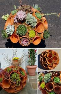 Outdoor Tree Planters by Creative Indoor And Outdoor Succulent Garden Ideas 2017