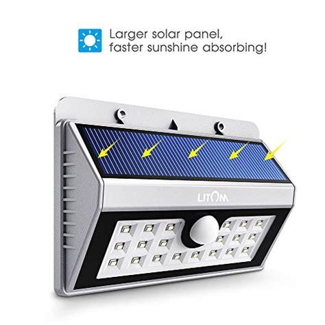 litom solarleuchten solar wandleuchtesolar auenleuchte 20