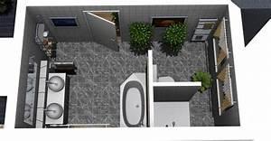 Bad Grundrisse Beispiele : badezimmer grundriss ideen moderne badezimmer wohnen ~ Orissabook.com Haus und Dekorationen