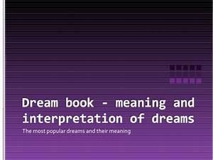 10000 Dream Interpreted Pdf - Free Software and Shareware ...