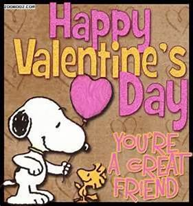 Happy Valentine's Day, You're A Great Friend Pictures ...
