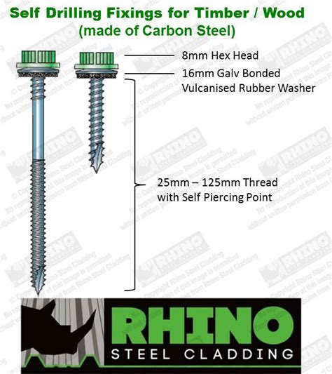 corrugated roofing sheets grp rooflight tek screws timber fixings ebay
