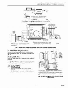 Caution  Plumbing Saddle Valve  He365a B Powered Flow