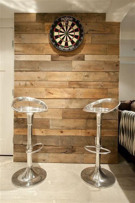 clever  cool basement wall ideas