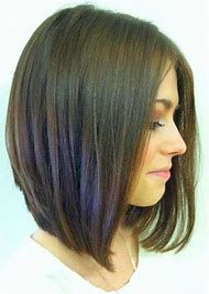 Long Inverted Bob Haircut Hairstyle