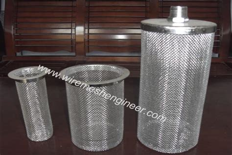 basket strainer wire mesh products anping glory filter
