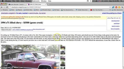 craigslist charleston sc  cars  trucks  sale