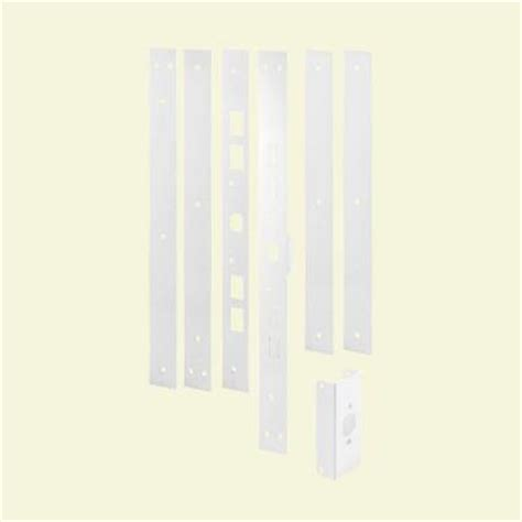 door jamb repair kit white powder coated door jamb reinforcing and repair kit u