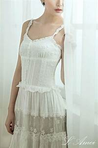 simple boho organic cotton lace wedding dress 2148077 With cotton lace wedding dress