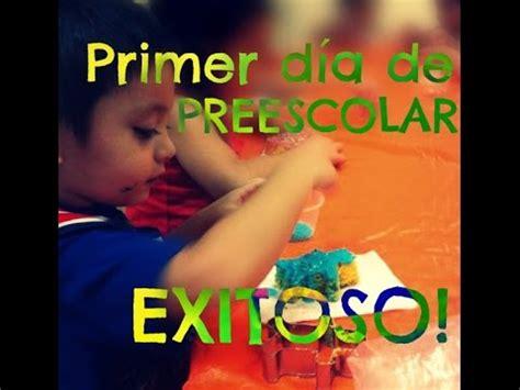 TIPS para tener un primer día de Preescolar ¡EXITOSO ...