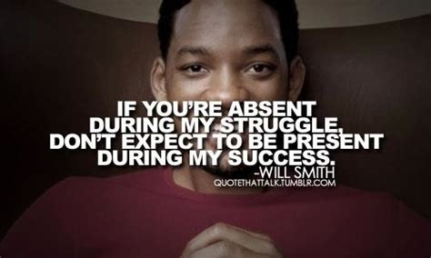 youre absent   struggle dont expect