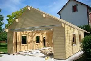 Garage Ossature Bois : les 44 meilleures images du tableau garage sur pinterest ~ Melissatoandfro.com Idées de Décoration
