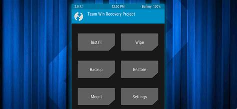 custom recovery android how to flash the twrp recovery environment to your android