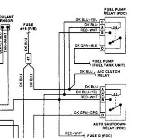 1992 Dodge Dakotum Ignition Wiring Diagram by 1992 Dodge Dakota I Trouble Codes 12 42 33 55 33 A C
