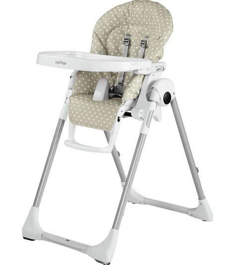 peg perego chaise haute peg perego prima pappa zero 3 high chair baby dot beige