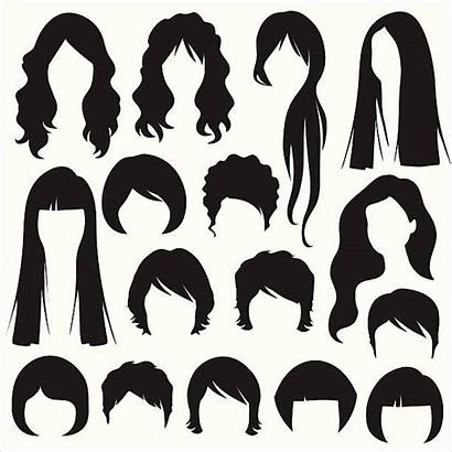 Clipart Woman Hairstyle Silhouettes Illustrations Silhouette Kapsel