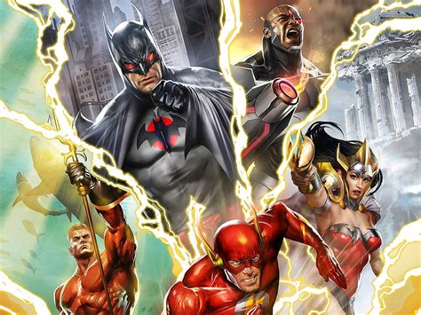 justice league  flashpoint paradox hd wallpapers