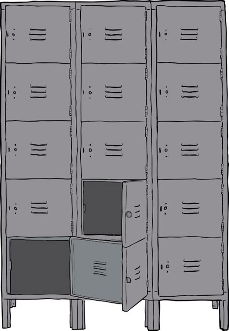 library  image black  white library school lockers