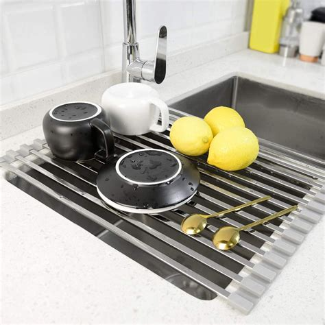 drying dish rack roll racks dishes sink mat kitchen inch foldable use buying guide