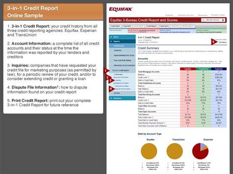 three bureau credit report equifax 3 bureau credit report and scores tour