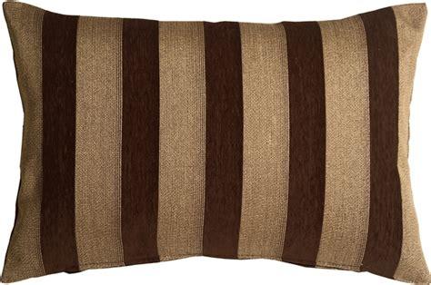 brown throw pillows brackendale stripes brown rectangular throw pillow from