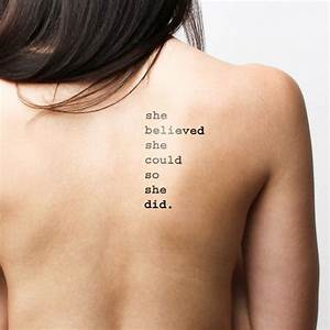 114 best quotes... Tattoo Temporary Quotes